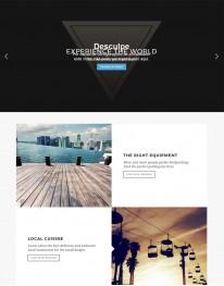 Template Joomla Viagens e Turismo Venice 3.x