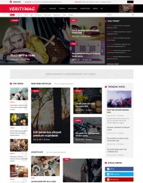 Template Joomla Blog Moda Fashion Veritymag 3.x