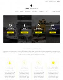 Template Joomla Transportadoras e Viagens Zoka 3.x