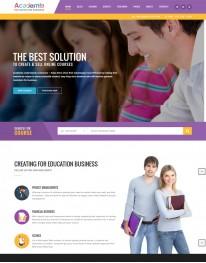 Tema Wordpress Cursos, Educação e Treinamentos Academia