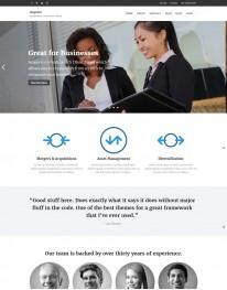 Tema Wordpress Empresas, Negócios e Representações Acquire