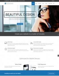 Tema Wordpress negócios, vendas e representações Adama