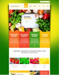 Tema Wordpress Alimentos, Natureza e Agricultura Agriculture