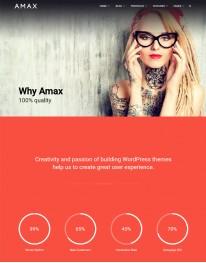Tema Wordpress Blogs, Fotos e Fotografos Amax