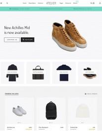 Tema Wordpress Moda, Roupas, Acessórios e Vendas Atelier
