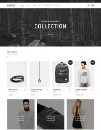 Tema Wordpress Moda, Jóias, Acessórios e Produtos Aurum