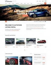 Tema Wordpress Carros,  Concessionárias e Notícias AutoStars