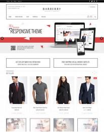 Tema Wordpress Compras, Roupas e Acessórios Barberry