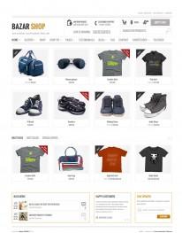 Tema Wordpress Blogs, Moda, Acessórios e Venda BazarShop