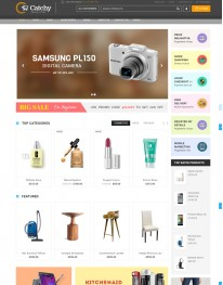 Tema Wordpress Tcnologia, E-commerce e Virtue Mart Catchy