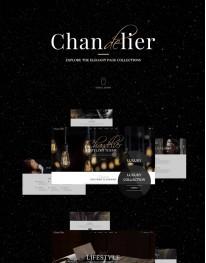 Tema Wordpress Moda, Fotógrafos, Imagens, Vintage Chandelier