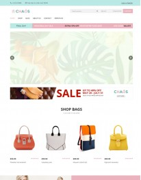 Tema Wordpress Moda, E-commerce, Virtue Mart Chaos