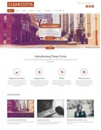 Tema Wordpress Empresas, Negocios, Corporaçoes Cleancutta