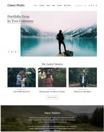 Tema Wordpress Fotos,Fotografias, Fotógrafos Clean Photo