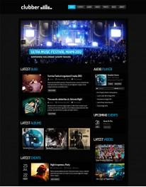 Tema Wordpress Musicos, Bandas, Baladas e Bares Clubber