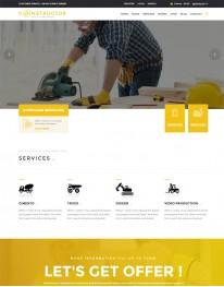 Tema Wordpress Construção Civil, Engenharia Constructor