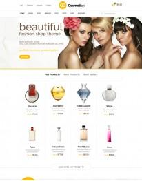 Tema Wordpress Virtue Mart, Cosméticos, Beleza Cosmetico