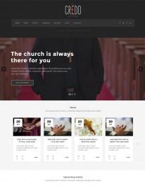 Tema Wordpress Religiosos, Igrejas, Instituições Credo