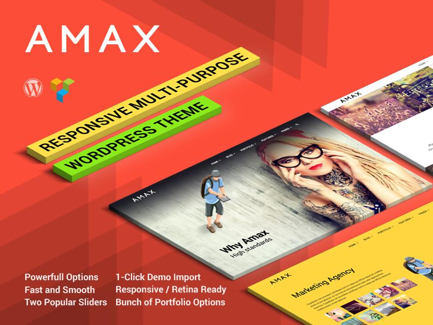Wordpress Amax
